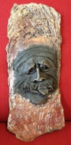 CREATIVE AGE ART EXHIBIT: Jean Macon - Old Man in the Woods