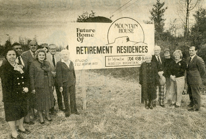 Future home of Mountain House Retirement Residences